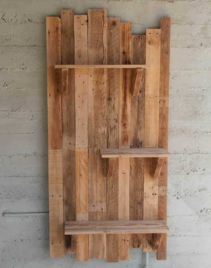 Wood Pallet Shelf Board   The Best Wood Furniture