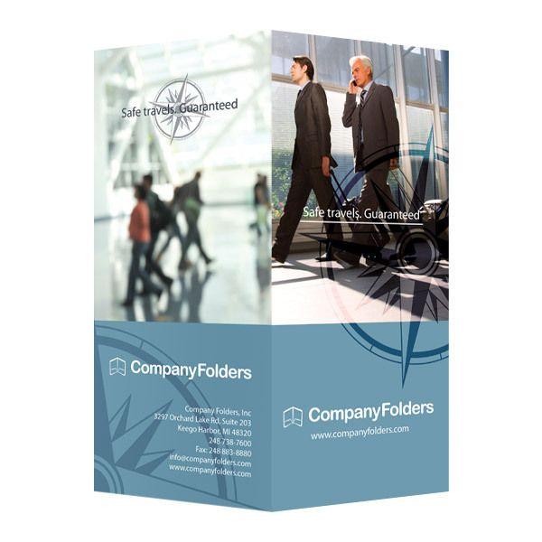 Business Travel Documents Folder Template