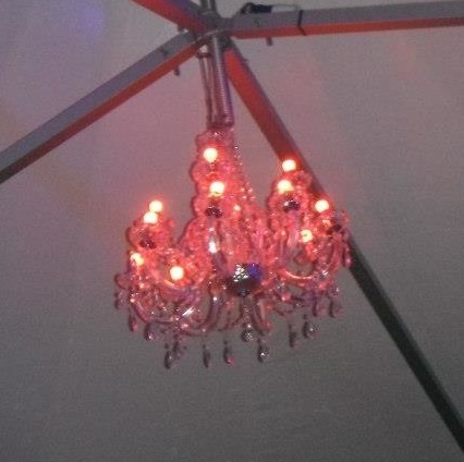 Sosho Club Leicester , Exterior Chandelier