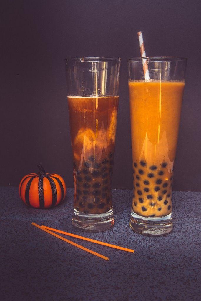 Iced Pumpkin Thai Tea