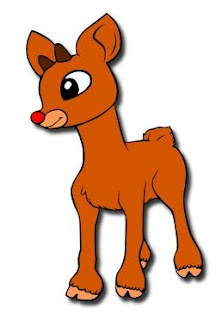 The Lady Wolf: Rudolph The Red Nosed Reindeer SVG