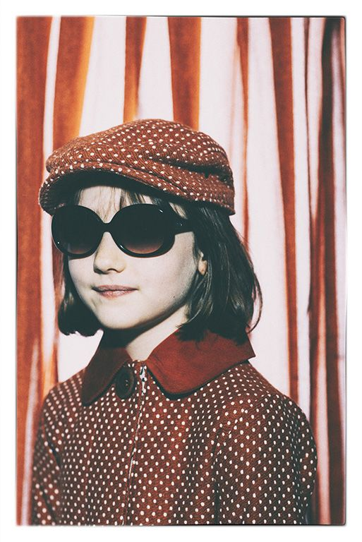 Cute girls spotty jacket and matching cap from Milk and Biscuits kids fashion for fall 2014