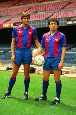 Julio Salinas y Eusebio llegaron del Atlético
