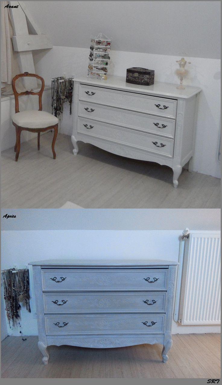 best 20 commode laqu blanc ideas on pinterest buffet. Black Bedroom Furniture Sets. Home Design Ideas