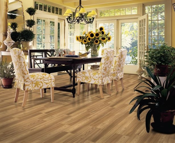 komi teak 7 mm laminate traditional wood look - Armstrong Laminate Flooring