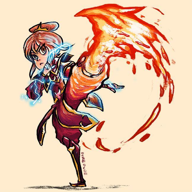 Lina as Azula