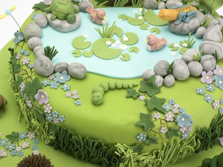 60 best Fondant Garten / Garden images on Pinterest Cake ...