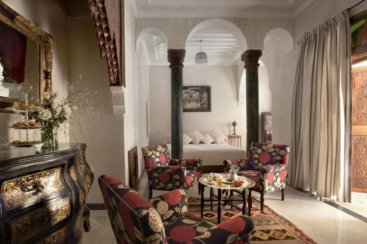 Where Can I Go To Stay In A Stunning Traditional Moroccan Riad? Find out now http://www.thechictravelclub.com/traditional-moroccan-riad/ New article up now on the site, photo credit La Sultana Hotels