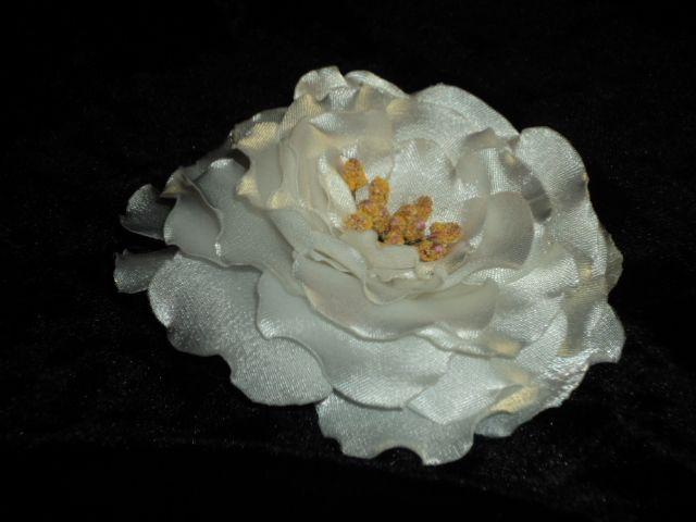 White satin flower