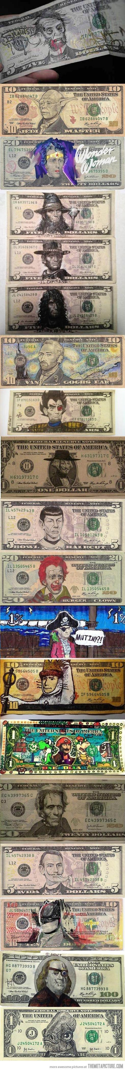 Art in Money…