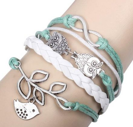 Wrap Bracelet... GIFT IDEA FOR Valentine's Day!! ONLY $7.99 for these AWESOME bracelets!!! Fashion Braided Leather/Suede Wrap Bracelets ~ Cute Gifts for Valentine's Day