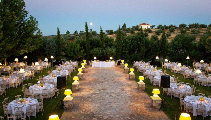 Γάμος σε έναν πραγματικό Πύργο! #PyrgosPetreza