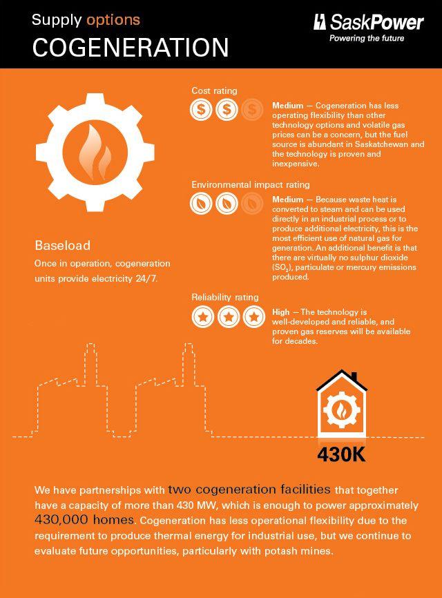 Cogeneration Infographic