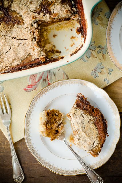 Shoofly Pie Bars -- interesting twist. May have to give these a shot, even though I know they won't taste just like Dot's shoofly pie.