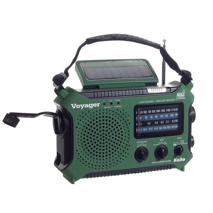 Kaito Green Voyager Radio | Overstock™ Shopping - The Best Prices on Emergency Radios