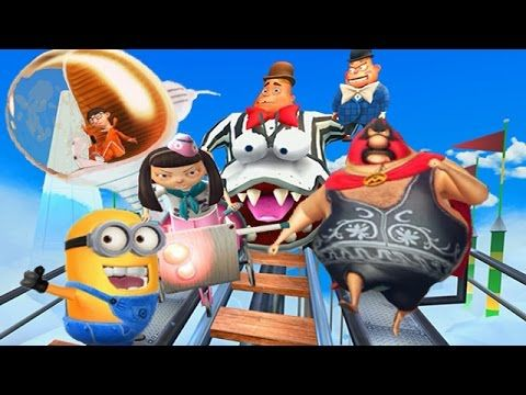 Despicable Me 2: Minion Rush Residential Area Part 7 - Meena Boss - YouTube