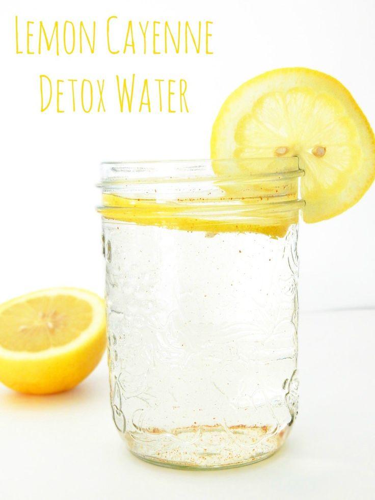 Lemon Cayenne Detox Water