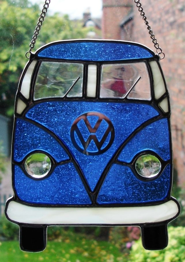 STAINED GLASS CAMPER VAN                                                                                                                                                      More