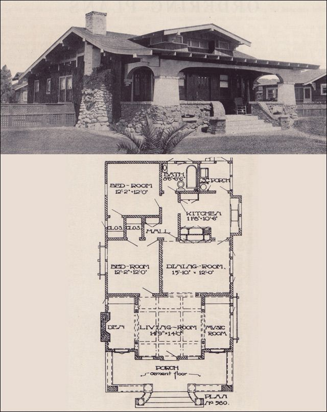 227 best images about arts crafts style on pinterest for Arts and crafts bungalow floor plans