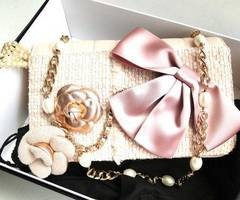 <3: Bags Pur Wallets Deffel, Idea, Style, Pink Pur, Pretty Things, Bows, Barbie, Necklace, Haute Couture