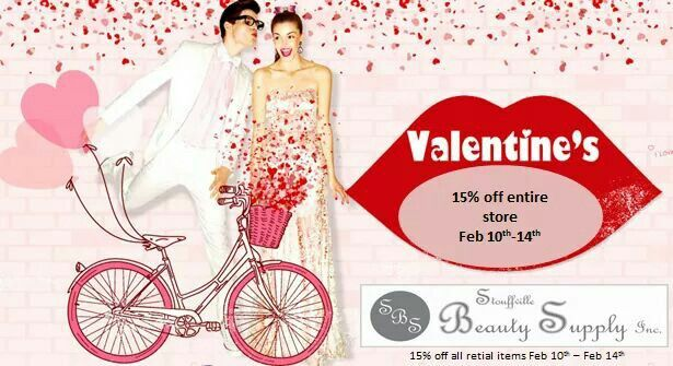 Valentine's day sales