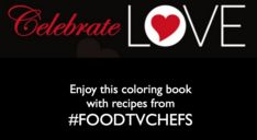Excited to share Celebrate Love: A Recipe Coloring Book. Nine TV Food Chefs share delicious recipes with Diva Foodies. In between each recipe you'll coloring pages with food cartoons.   Chefs included winners of #HellsKitchen, #MasterChef, #MasterChef Junior and #Cutthroat Kitchen. In addition finalists from #AllStarAcademy and more. #FoodNetwork #GordonRamsay