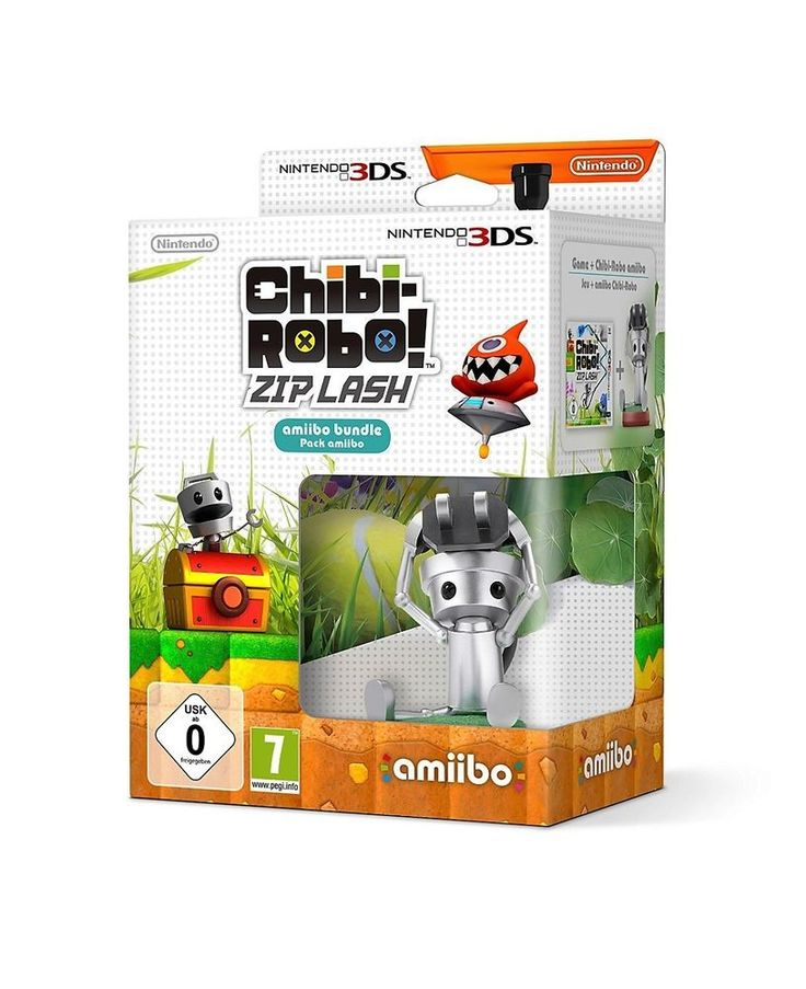Chibi Robo Zip Lash Nintendo 3DS / 2DS Plus Amiibo  Brand NEW