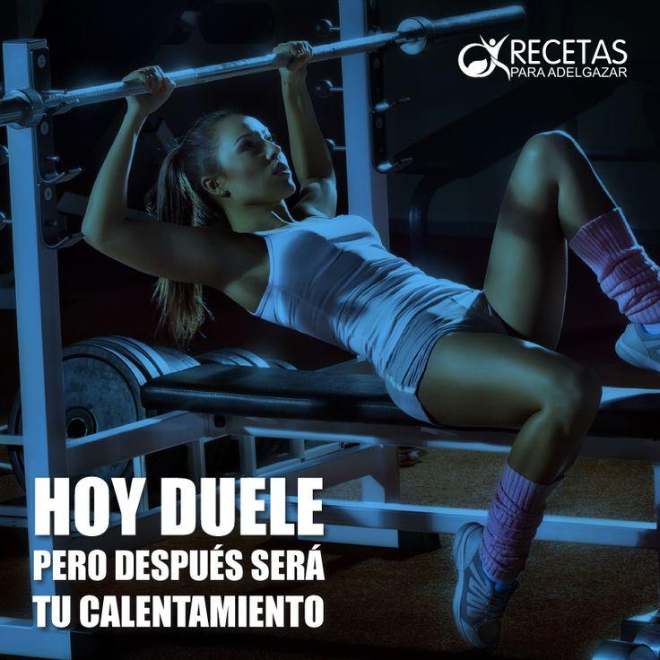 ¡Todo comienzo es difícil, pero con constancia y perseverancia lo lograrás! #Fitness