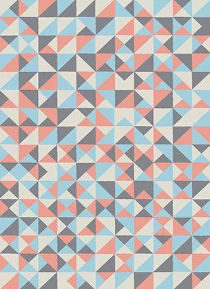 Hazard geometrical pattern design