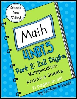 1000+ images about Math- Multiplication and Division on Pinterest ...