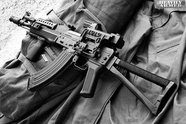 LCT AK-105 with kobra holosight and a few other additions.