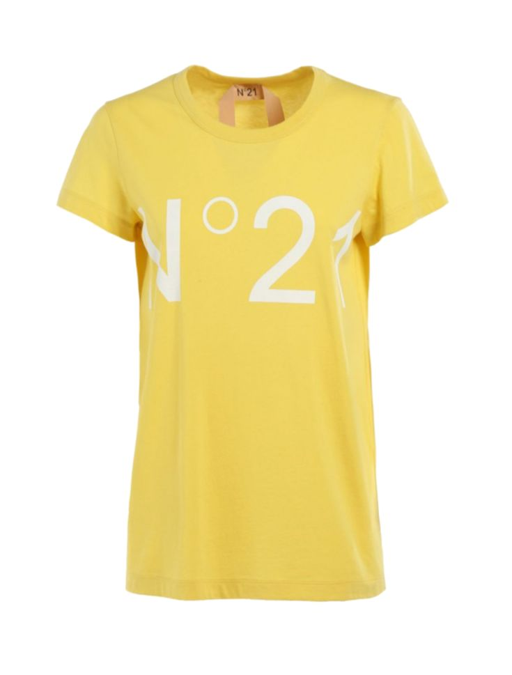 T-Shirt Logo Yellow