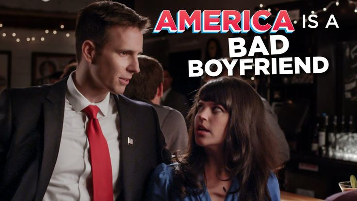 How America Is Like A Bad Boyfriend...I was only thinking of Alfred.