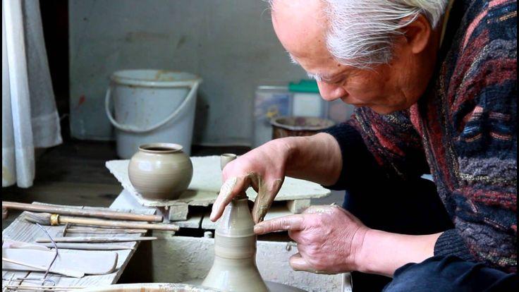 Teapot Throwing.  Must see !  Wonderful !!!       Tokoname Master Craftsman - Hokujo (Genji Shimizu)