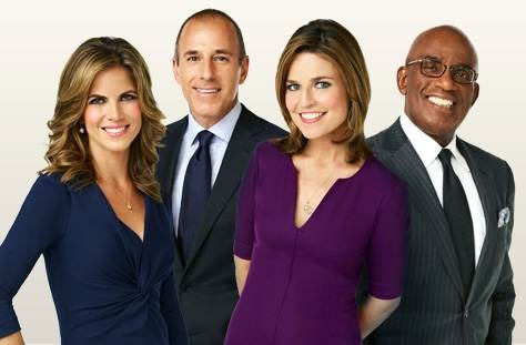TODAY show... Absolute favorite newscast and team