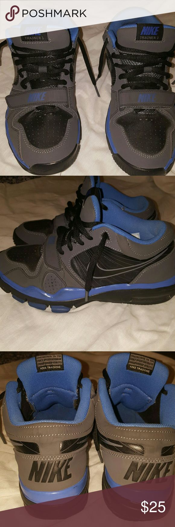 Nike Trainer 1 Worn twice, without box. Great condition. 5.5 in boys (big kids) Nike Shoes Sneakers