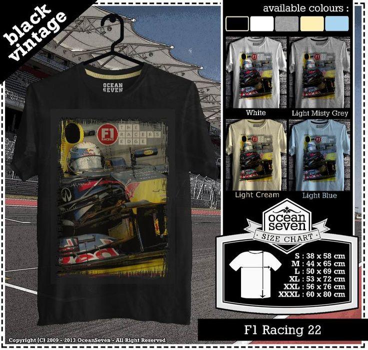 Kaos Balap F 1 | Formula One Racing  series 2