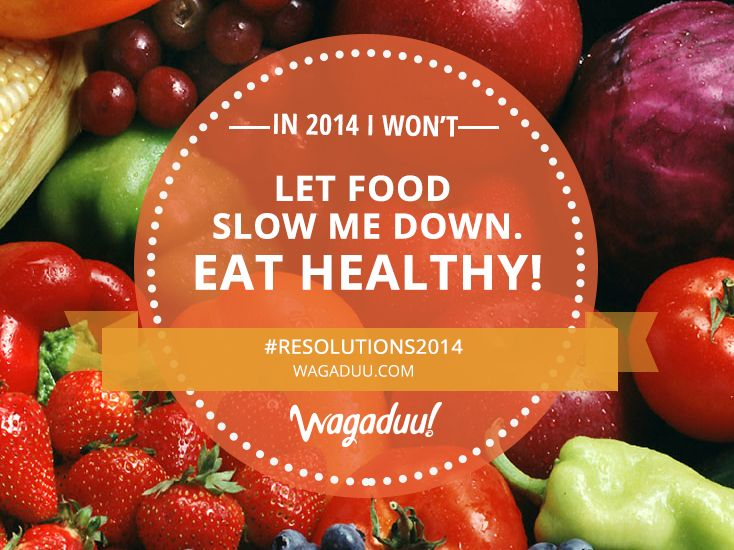 Healthy food makes you go faster; bad food slows you down. Don't let it happen! #Resolutions2014 #marathon #running