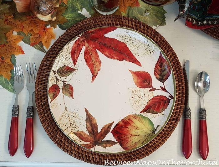 An Autumn Table with Woodland Friends & 69 best Flatware for All Types of Table Settings images on Pinterest ...
