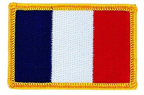 Pour décorer mon sac à dos de backpackeuse de l'extrême ! Un patch écusson brodé drapeau France thermocollant, Akacha. Il faut en ramasser un dans chaque pays...
