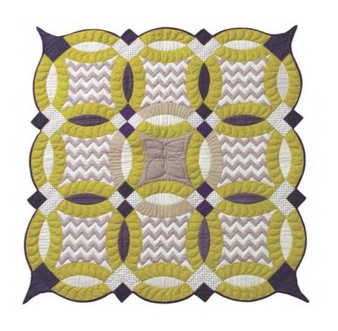 Quilts > Double Wedding Rings – Victoria Findlay Wolfe Quilts
