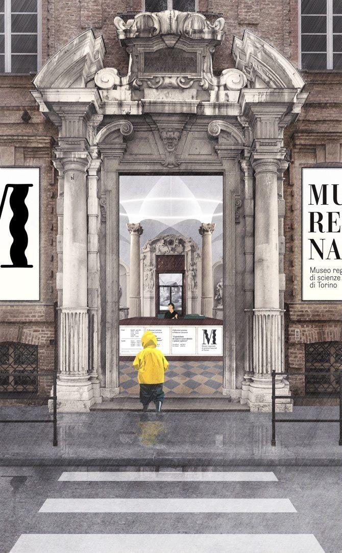 MURENA_the new entrance, Natural Museum Torino, Fosbury Architecture