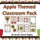 This product is over 140 pages and includes a ton of resources to help you decorate and organize your classroom in a cheerful apple theme. All of t...