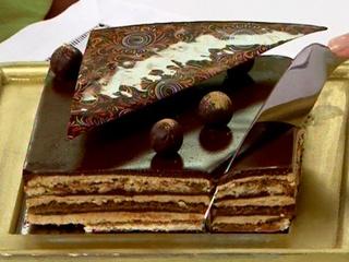 Opera de cafe y chocolate