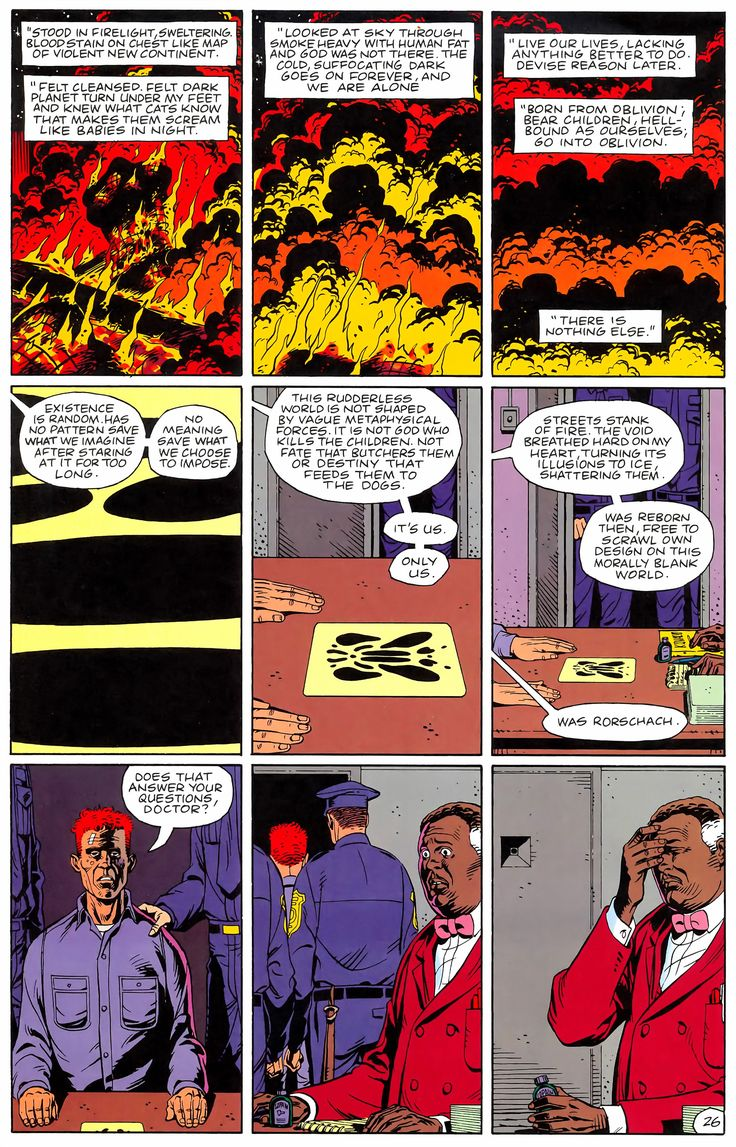 Watchmen Issue #6 - Read Watchmen Issue #6 comic online in high quality