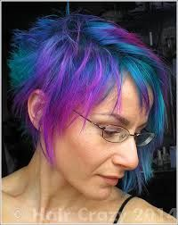 pink to blue gradient hair - Google Search