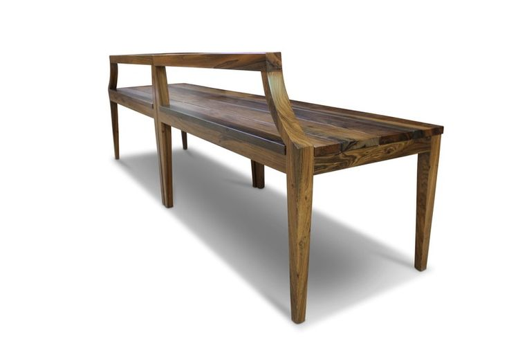 Nicostrato Bench  Contemporary, Transitional, Wood, Bench by Costantini Design