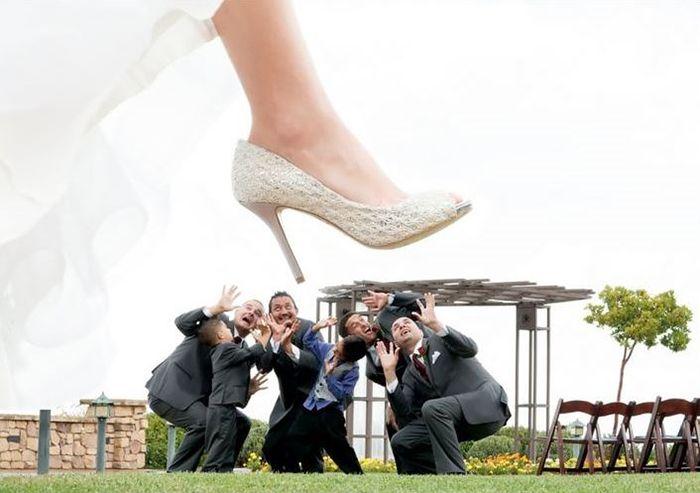 Organizando Meu Casamento - Padrinhos - Pisados pela Noiva