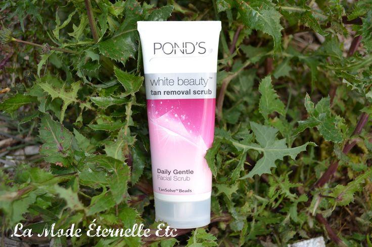 Ponds White Beauty tan removal daily scrub review