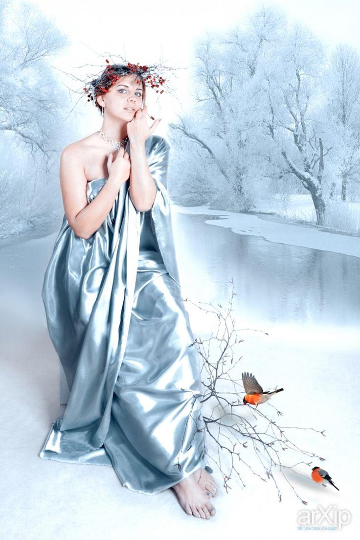 Зима: фотография, цветная фотография, жанровая фотография #photo #colorphoto #street& arXip.com